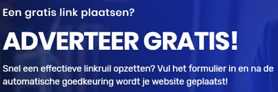 adverteer gratis